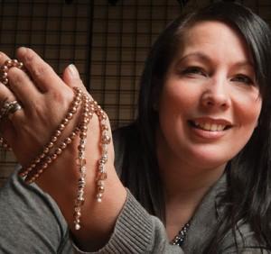 Tiffany from Buddha & The Raven Studio, emerging designer
