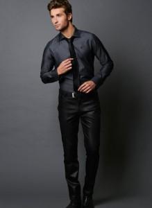 Bates Charcoal Grey Shirt