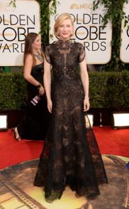 Cate Blanchett wearing Armani Privé