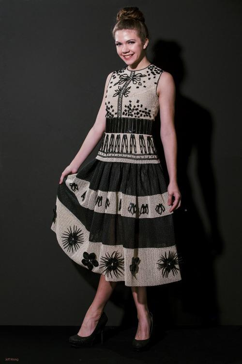 non fabric dress