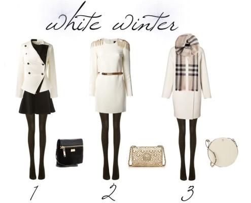 White winter by Aurora Berill