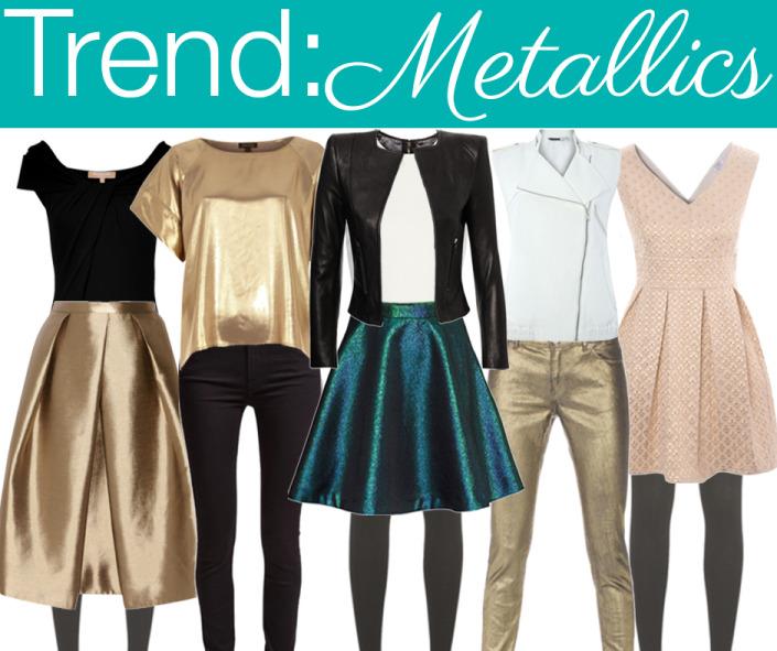 Winter Trend 2014 : Metallics