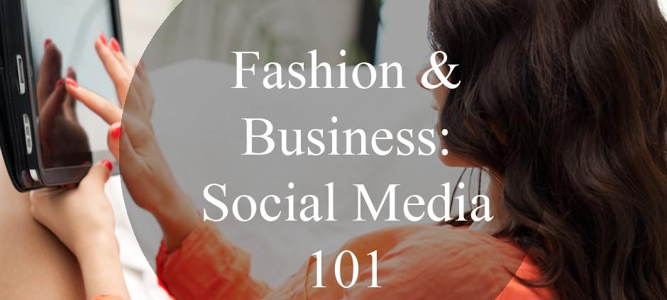 Fashion Business Social Media